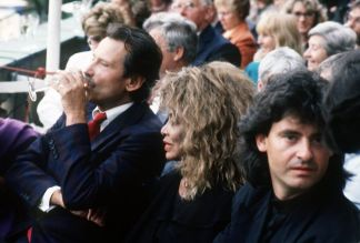 Tina Turner & Erwin Bach at Placido Domingo Concert - Cologne 30 July 1988