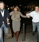 "Tina Turner & Erwin Leaving "" La Vita"" restaurant - Cologne 23 October 2006"