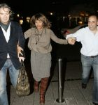 "Tina Turner & Erwin Bach Leaving "" La Vita"" restaurant - Koln 23 Oct 2006"