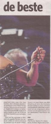 Tina Turner - Algemeen Dagblad - March 23, 2009 - 02