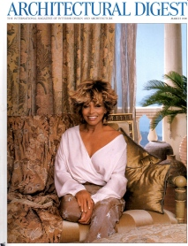 Tina Turner- Architectural Digest 1