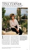 Tina Turner- Architectural Digest 3