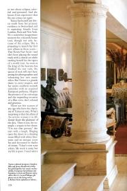 Tina Turner- Architectural Digest 4
