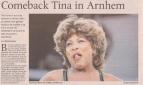Tina Turner - De Gelderlander - March 21, 2009 - 01