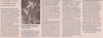 Tina Turner - De Gelderlander - March 21, 2009 - 02