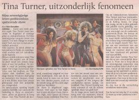 Tina Turner - De Stentor - March 23, 2009