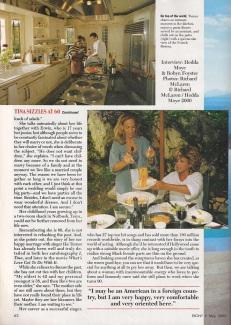 Tina Turner - Ebony magazine - May 2000 (8)