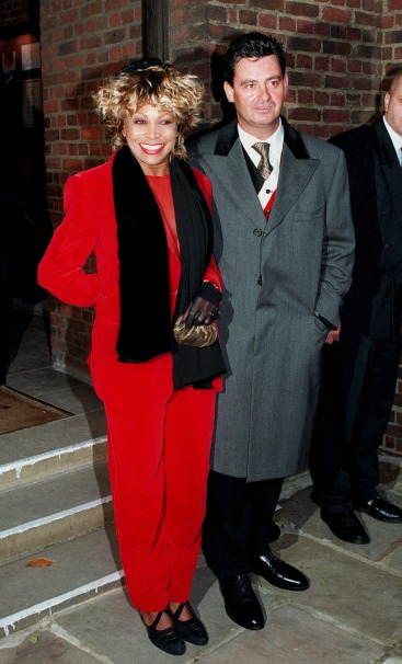 Tina Turner & Erwin Bach - Roger Davies Wedding - December 1996