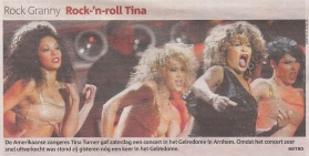 Tina Turner - Metro - March 23, 2009
