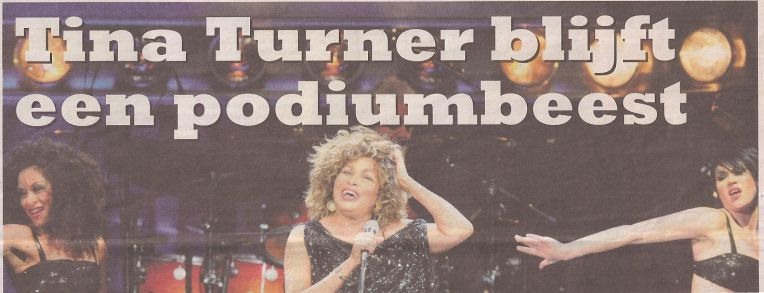 Tina Turner - Spits - March 23, 2009 - 01