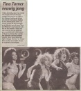 Tina Turner - Telegraaf - March 22, 2009
