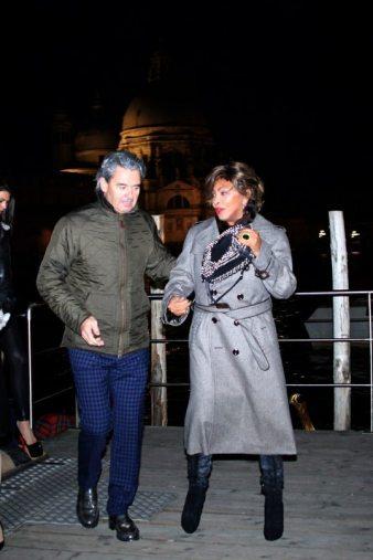 Tina Turner & Erwin Bach - Venice, 14 November 2011