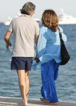 Tina Turner & Erwin Bach on holiday - St Tropez 25 July 2010