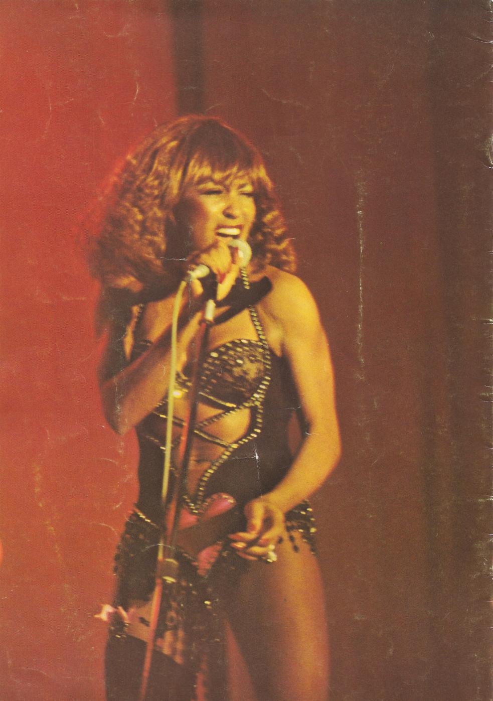 Tina Turner Tour Book