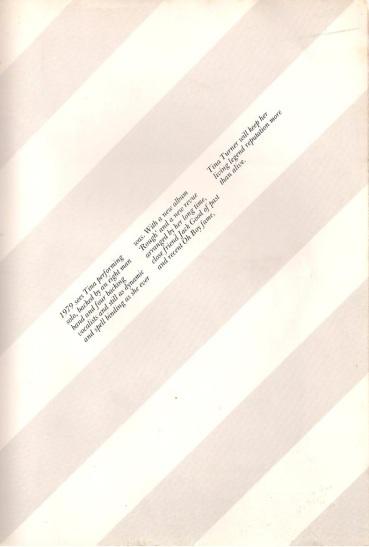 Tina Turner - UK tour book - 1979 - 13
