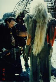 Mad Max Thunderdome - Tina Turner - Shooting on Location 1985 1