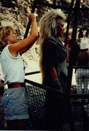 Mad Max Thunderdome - Tina Turner - Shooting on Location 1985 2