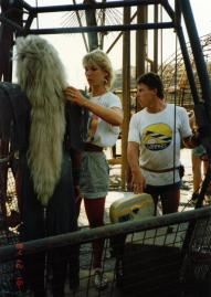 Mad Max Thunderdome - Tina Turner - Shooting on Location 1985 3
