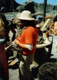 Mad Max Thunderdome - Tina Turner - Shooting on Location 1985 4