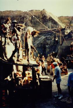 Mad Max Thunderdome - Tina Turner - Shooting on Location 1985 5