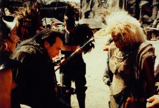 Mad Max Thunderdome - Tina Turner - Shooting on Location 1985 8