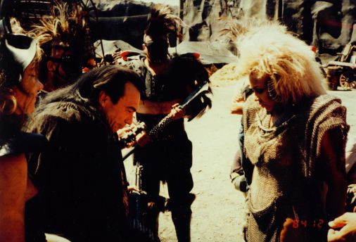 Mad Max Thunderdome - Tina Turner - Shooting on Location 1985 8