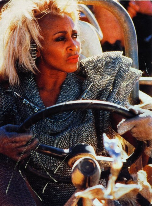 Mad Max Thunderdome - Tina Turner - Shooting on Location 1985 9