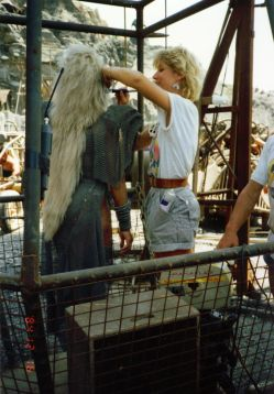 Mad Max Thunderdome - Tina Turner - Shooting on Location 1985 12