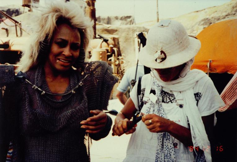 Mad Max Thunderdome - Tina Turner - Shooting on Location 1985 13