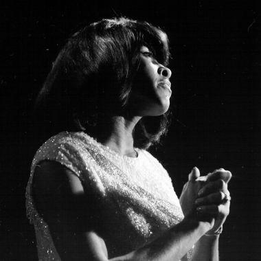 Tina Turner - black & white photo shoot - 1960's - 05