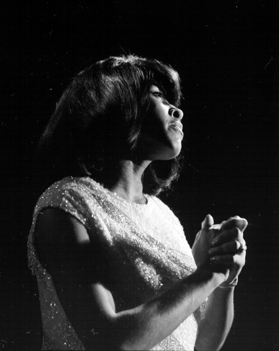 Tina Turner - black & white photo shoot - 1960's - 05