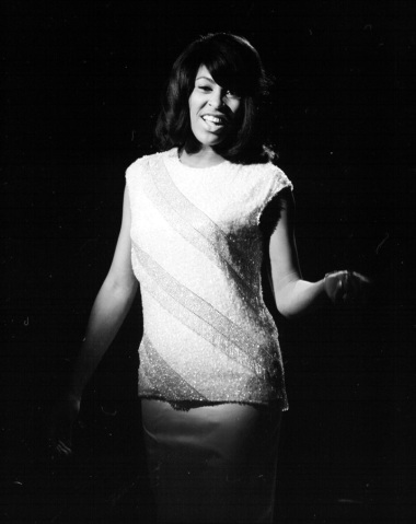 Tina Turner - black & white photo shoot - 1960's - 06