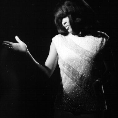 Tina Turner - black & white photo shoot - 1960's - 08