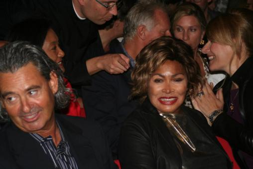 Tina Turner - Children Beyond press conference set 2 - Zurich, Switzerland - September 28, 2011 - 05