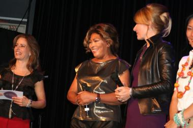 Tina Turner - Children Beyond press conference set 2 - Zurich, Switzerland - September 28, 2011 - 15