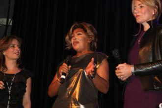 Tina Turner - Children Beyond press conference set 2 - Zurich, Switzerland - September 28, 2011 - 16