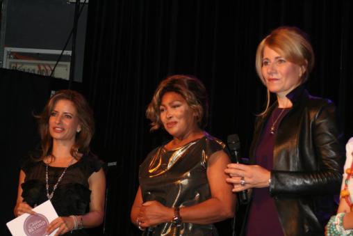 Tina Turner - Children Beyond press conference set 2 - Zurich, Switzerland - September 28, 2011 - 24