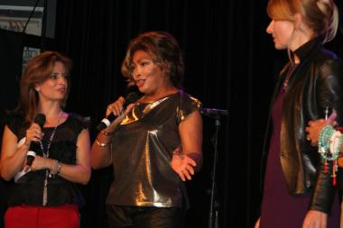 Tina Turner - Children Beyond press conference set 2 - Zurich, Switzerland - September 28, 2011 - 26