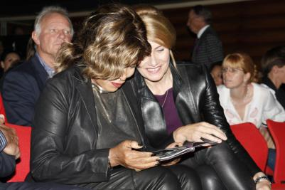 Tina Turner - Children Beyond press conference - Zurich, Switzerland - September 28, 2011 - 07
