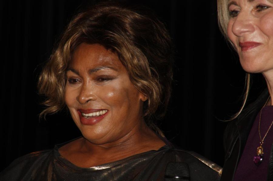 Tina Turner - Children Beyond press conference - Zurich, Switzerland ...
