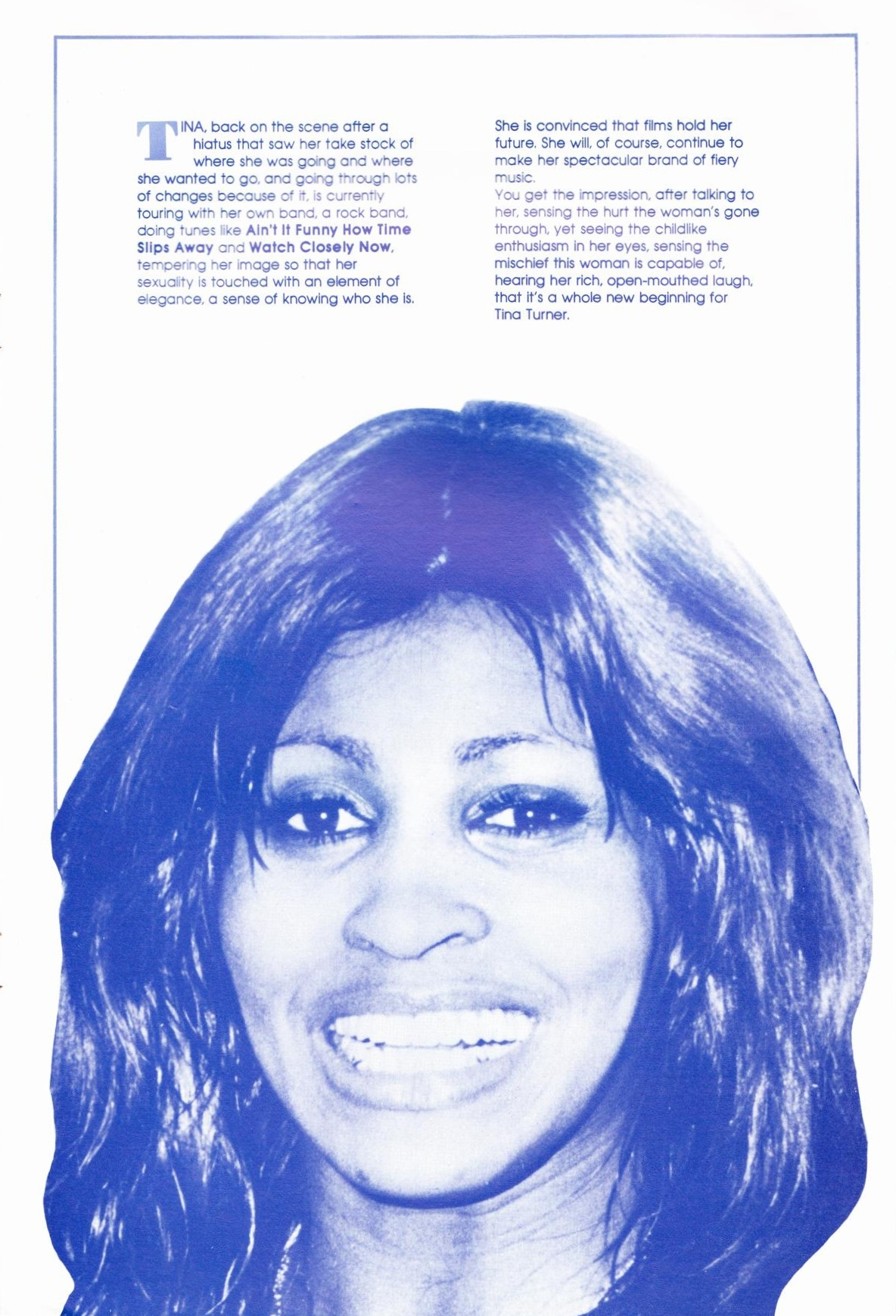 Tina Turner Tour  Australia