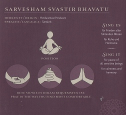 Sarvesham Svastir Bhavatu - Peace Mantra - Children Beyond 2011 - Booklet