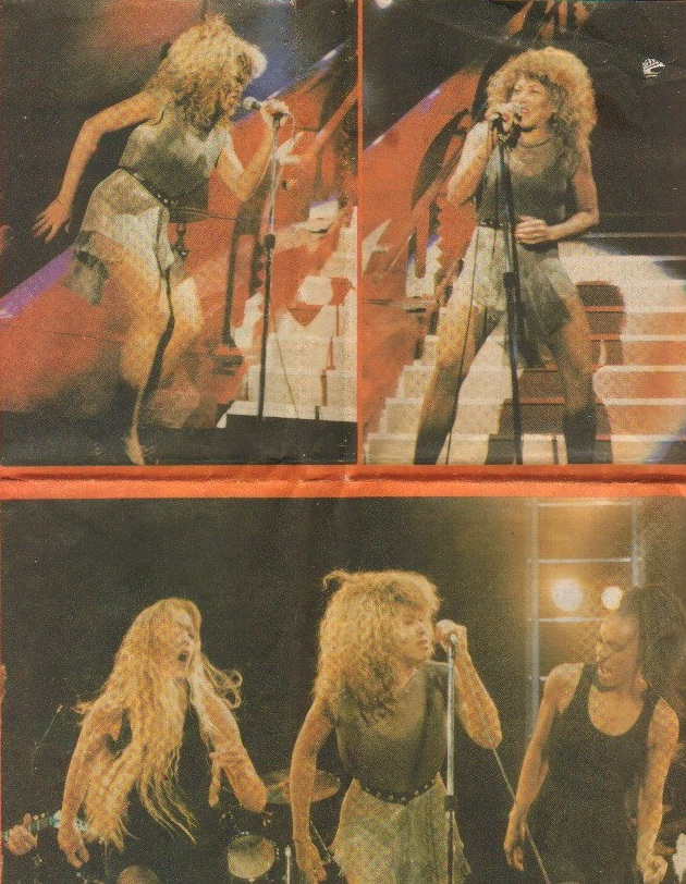 Tina Turner - Belgrade, Serbia - August 19, 1990 - newspaper article (2)