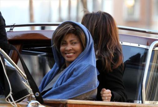 Tina Turner - Venice, Italy - November 14, 2011 (4)