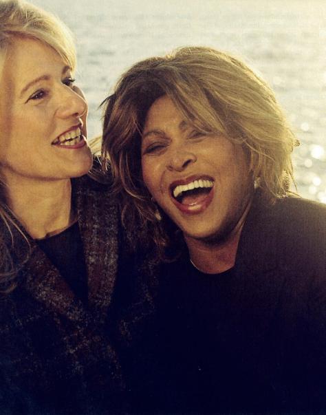 Tina Turner & Regula Curti - Bilanz Interview (6)