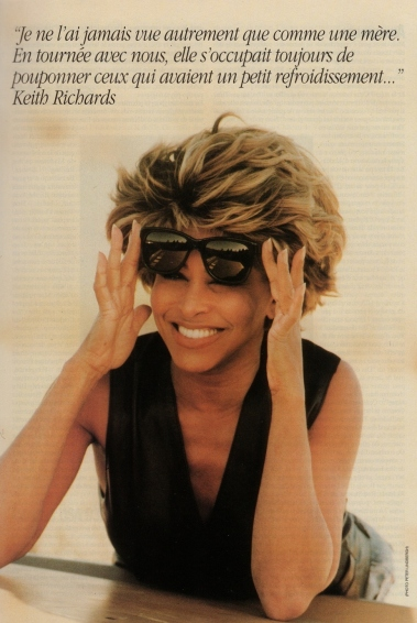 Tina Turner - Rock & Folk 1993 - 07