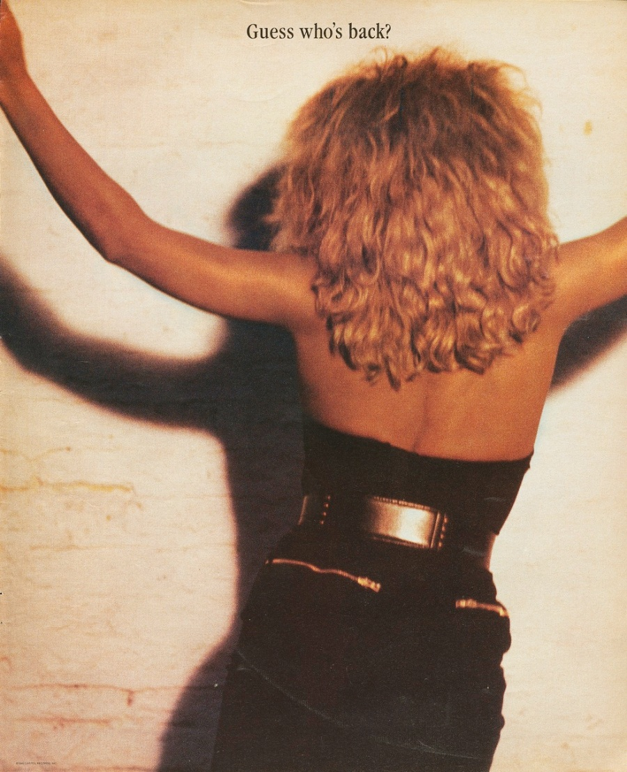 Tina Turner - Billboard Magazine advertisement - 1986 (1)