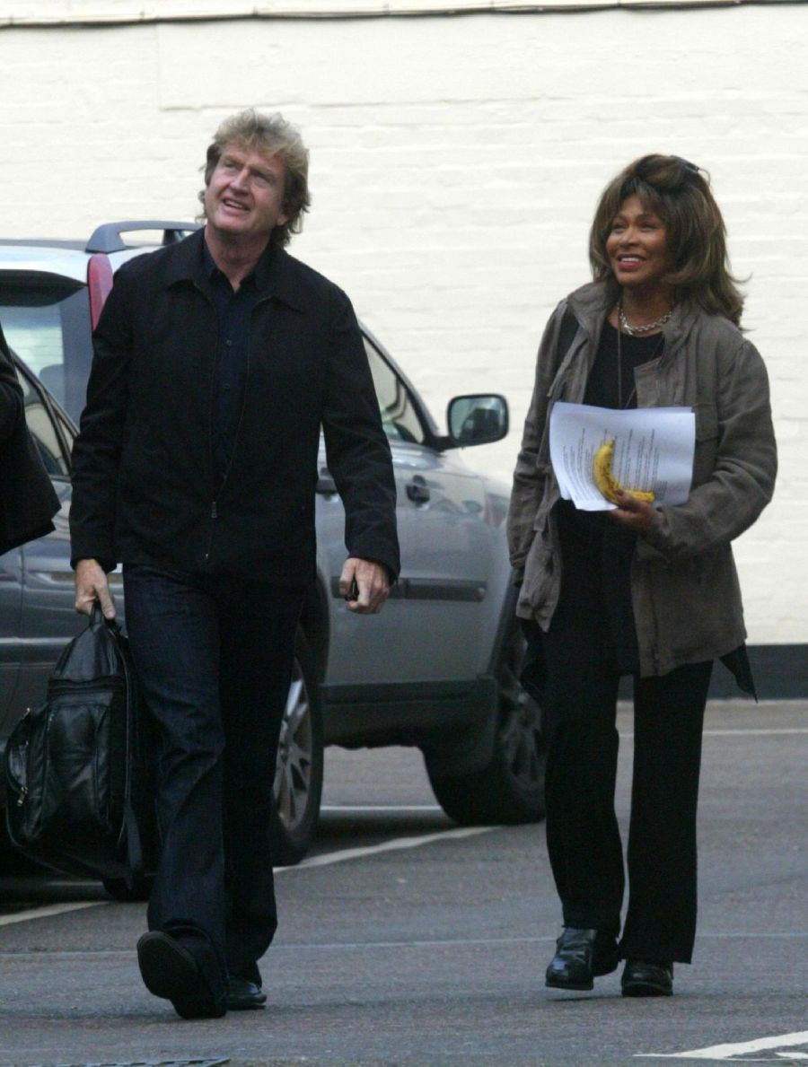 Roger Davies & Tina Turner - 13 October 2006
