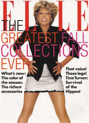 Tina Turner - Elle magazine - August 1996 - 01