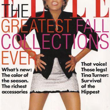 Tina Turner - Elle magazine - August 1996 - 01